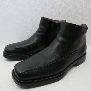 Bostonian Zippered Leather Dress Fashion Boots 11